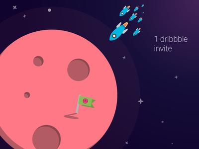 1 dribbble invite nowww !