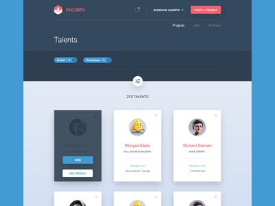 Talents directory