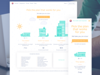 Sparkgrid pricing page