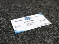 Norman Attorneys Business Card
