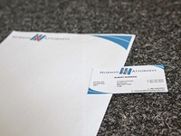 Norman Attorneys Letterhead And Business Card