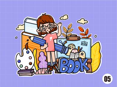 doodle illustrantion doodle