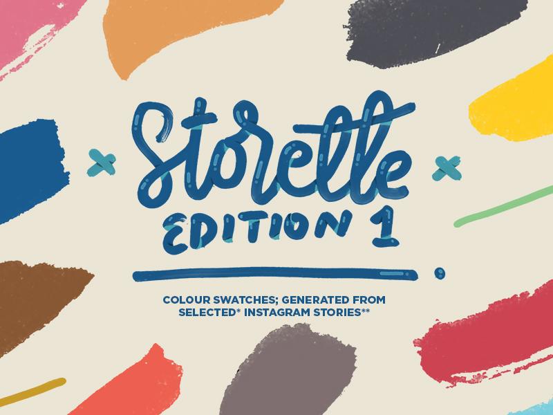 Storette • Edition 1 - Colour Palettes  catalog free freebie aco ase color resource palette swatches colour