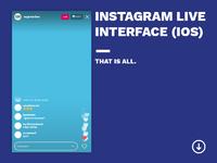 Instagram live drib2