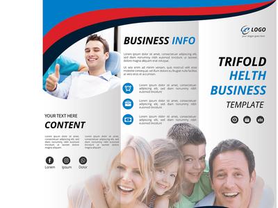 Health Trifold Brochure Design