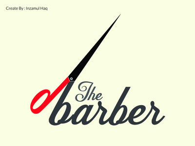 The Barber Logo Design Work