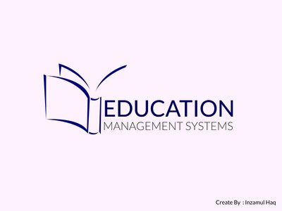 Education Management Systems Logo Design