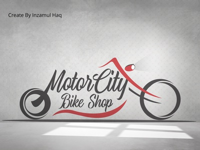 Motor City Bike Shop Logo Design