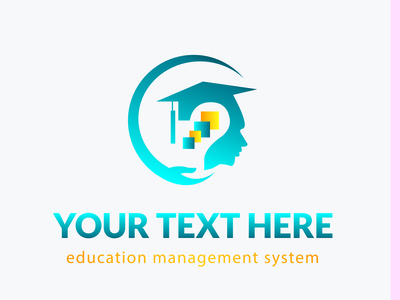 Education Management System Logo Design