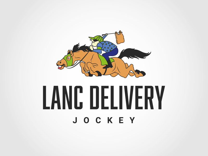 Fast delivery service logo....