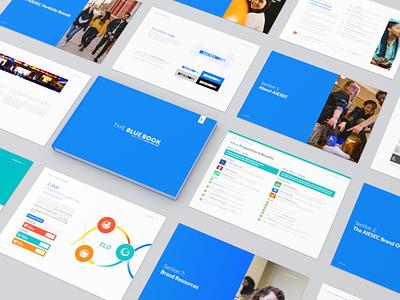 Blue Book 2020 brand design brand aiesec layoutdesign layout book