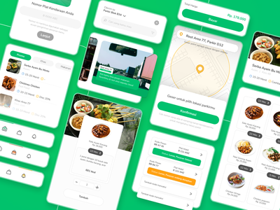 UIUX Design for Food Ordering Services