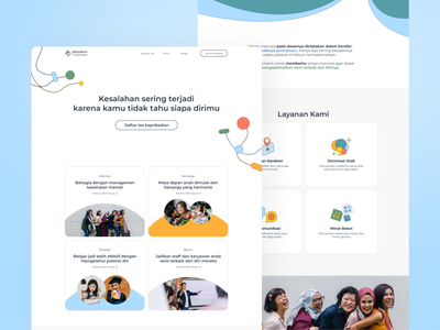 Website Design for Biometric Indonesia website branding uiux ux ui web designer web design