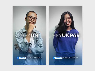 AIESEC Members Recruitment Poster photography simple organization aiesec branding design