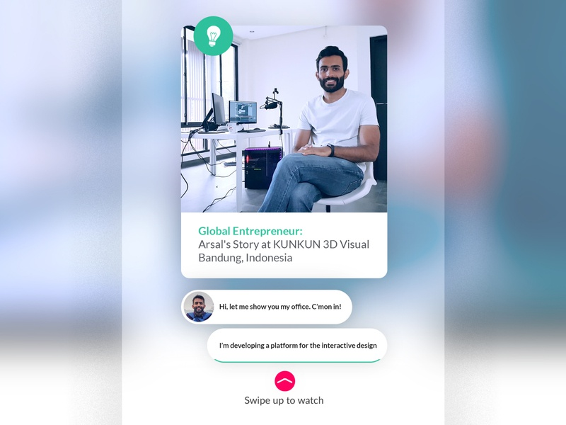 Global Entrepreneur Video ad