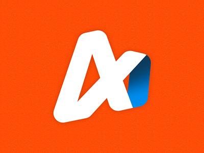 logo design for ALPHA vector illustration minimalism simple design logo