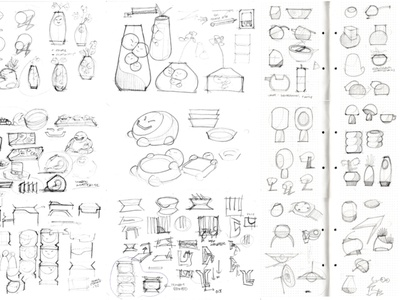 random product sketch product design sketch product