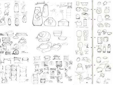 random product sketch