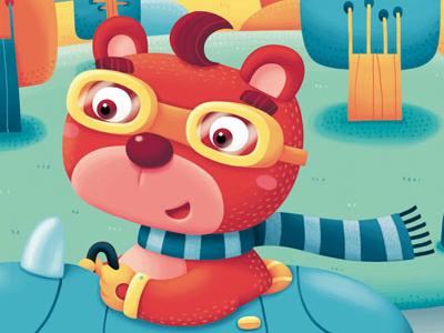 Red Bear bear animal