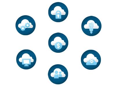 Web Icons web icons cloud icons web button
