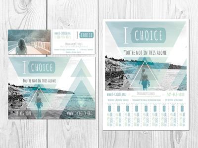 I Choice Branding i choice branding logo print non-profit