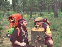 Art Direction - 70's Camping / Sasquatch Theme