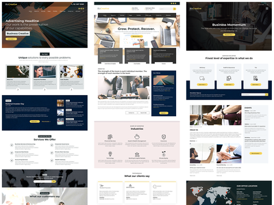 Business Web Design Template
