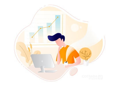 Come up with an Idea flat illustration vector ux ui flat illustration design