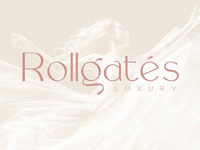 Rollgates Luxury Font templetes font branding typography design