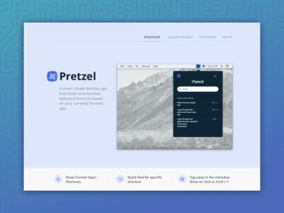 Pretzel v0.6.0 - smart shortcut finder