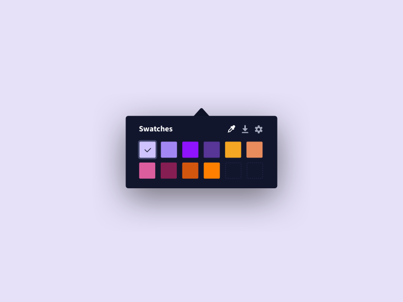The next project is underway color palette eyedropper app osx mac procreate sketch