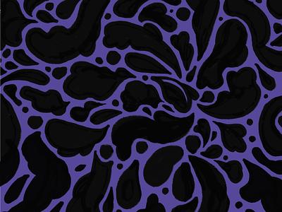 A Splashing Pattern pattern illustration sketch procreate