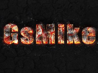 fire charcoal burn