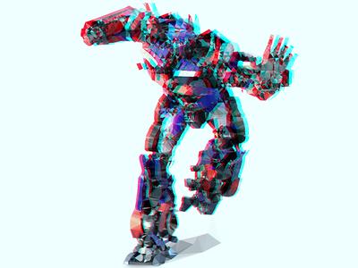 Low Polygon Transformers Optimus Prime