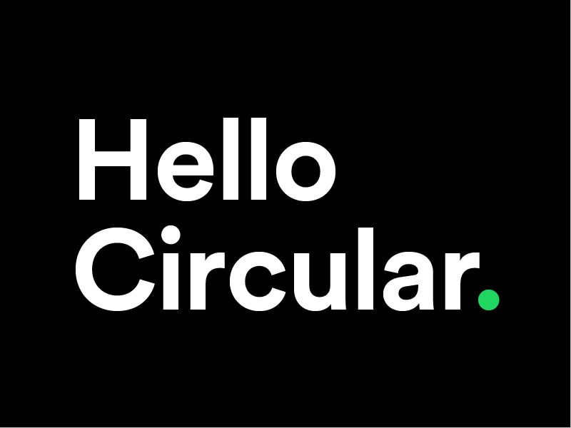Hello Circular  by Stanley on Dribbble