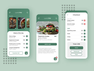 Mobile App - LunchPal