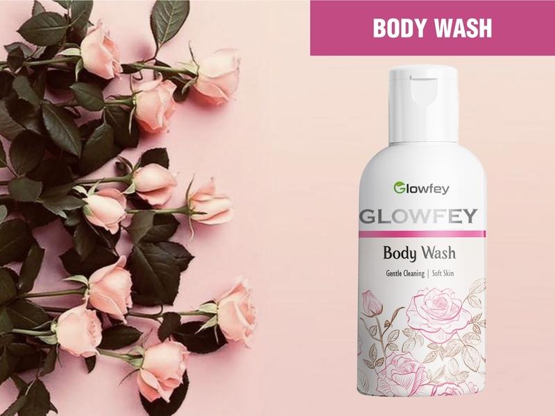 Body Wash pink cosmetic labeldesign label packaging cosmetic packaging skincare packagingdesign packaging design branding