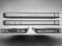 iPhone 4 Render