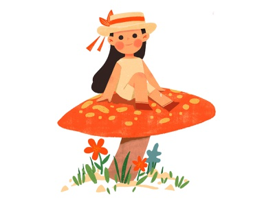 20200318 girl 插图 illustration