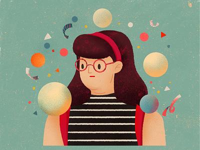 20200410 girl design illustration