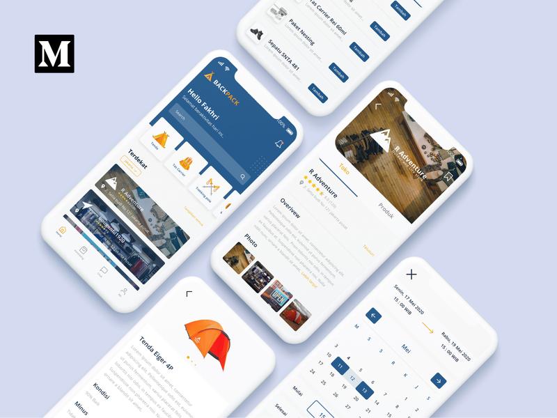 Backpack App medium case study ux research ux design ui design app ux ui