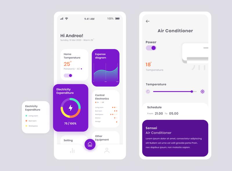 Smart Home App smarthome app design ux research ux design ui design ux ui