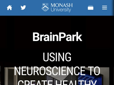 BrainPark website webdesign