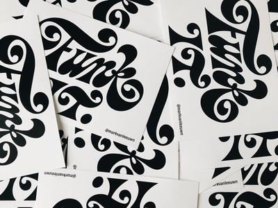 Funk It Stickers