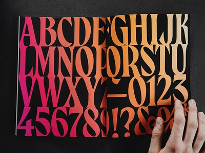 Magalie Alphabet display serif display font serif font new font font design typeface fonts font type design typography type