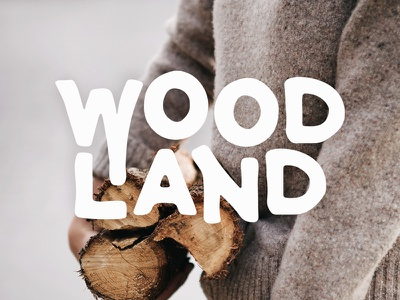 Woodland Font - Available now! font otf download graphicriver typography sans serif type letters typeface handmade handcrafted