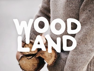 Woodland Font - Available now!
