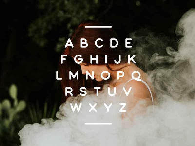 New Typeface type design typography type webfont otf ttf smooth rounded sans serif sans typeface font