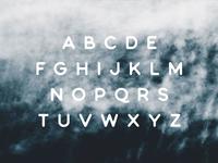 Bouquet Font - Alphabet