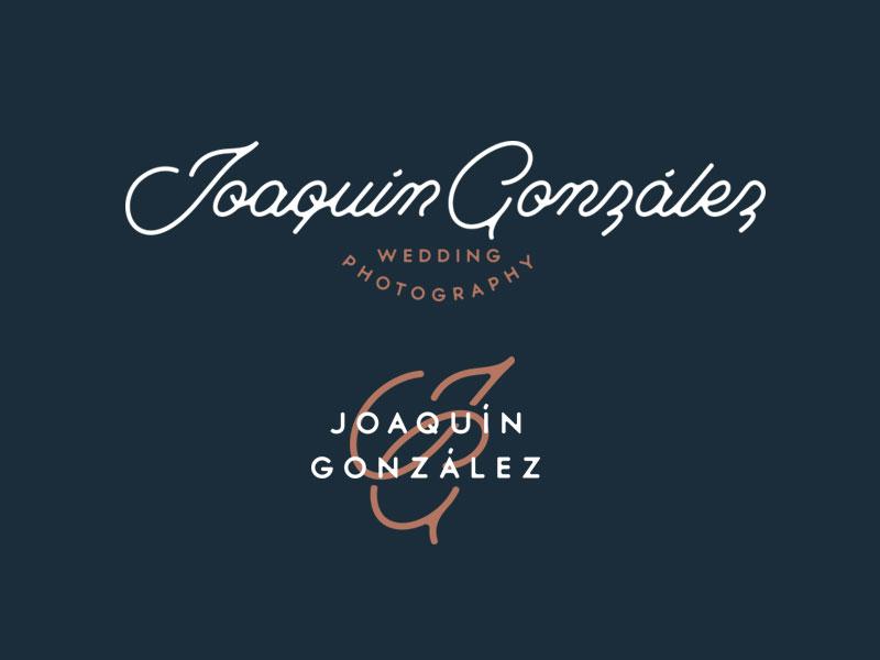 Joaquín González Branding branding logo logo design vintage identity brand